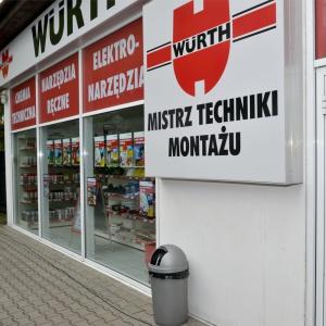 Sklep firmy Würth Polska przy ul. Modlińskiej w Warszawie. Fot. Würth Polska