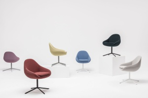 Krzesło z różnymi podstawami