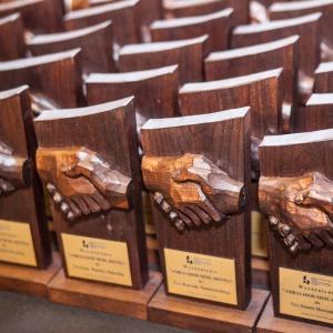 Podczas Kongresu wręczono statuetki Ambasador Meblarstwa.