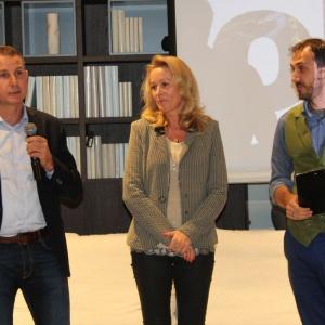 Krzysztof i Katarzyna Zawistowscy, właściciele marki Olta (od lewej), podczas otwarcia nowego showroomu w Białymstoku. Fot. Mariusz Golak