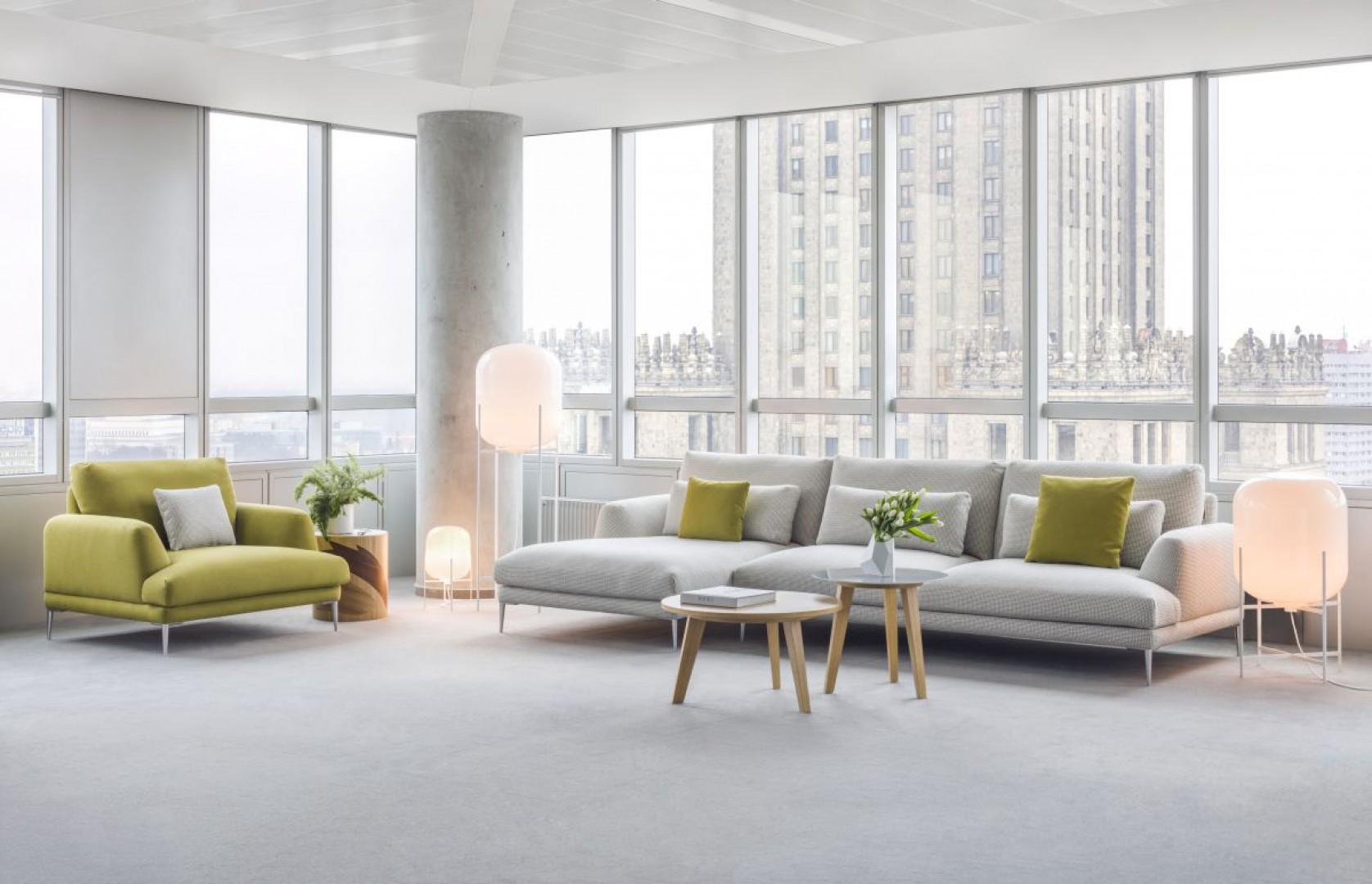 Sofa Classic. Projekt Krystiana Kowalskiego dla firmy Comforty. Fot. Ernest Winczyk/Comforty