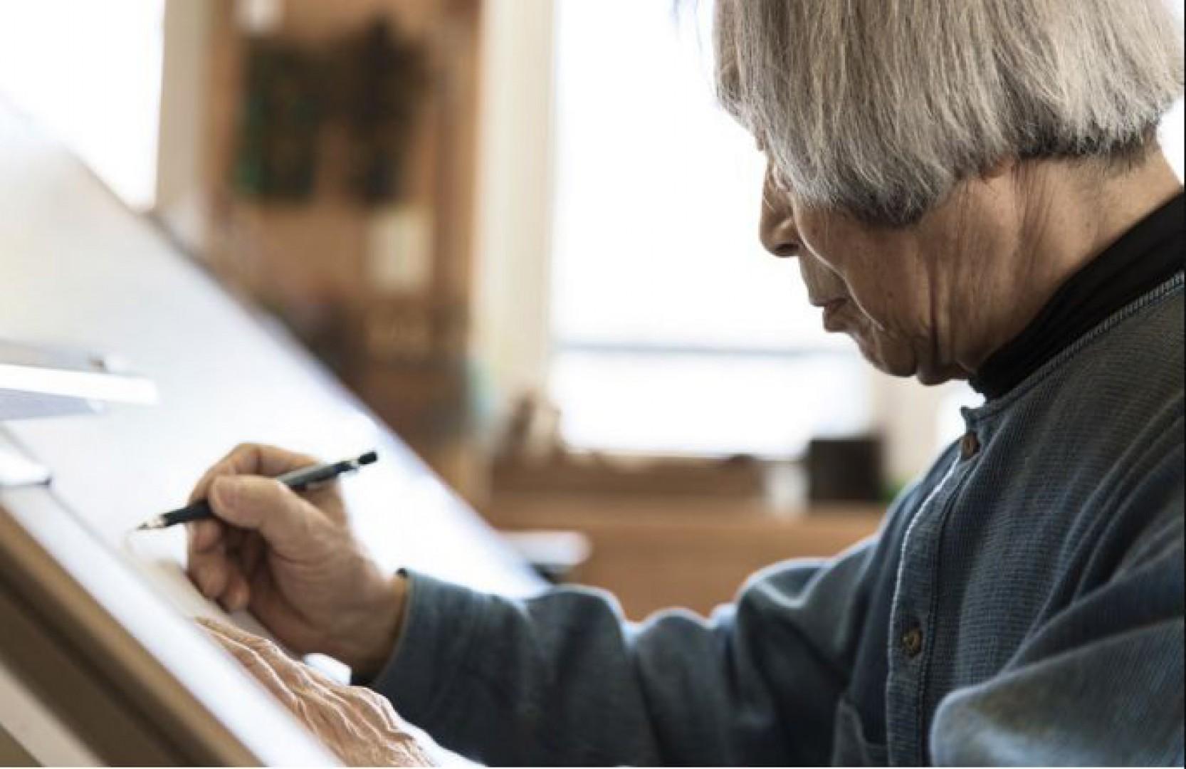 Noboru Nakamura, autor projektu fotela Poäng. Fot. IKEA
