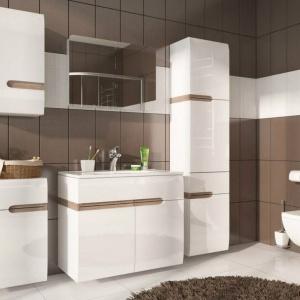 Kolekcja do łazienki Linate. Fot. Meble Wójcik