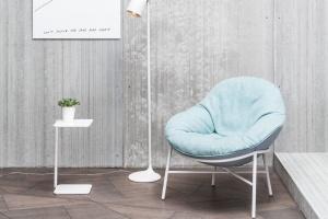 Fotel inspirowany latami 50.