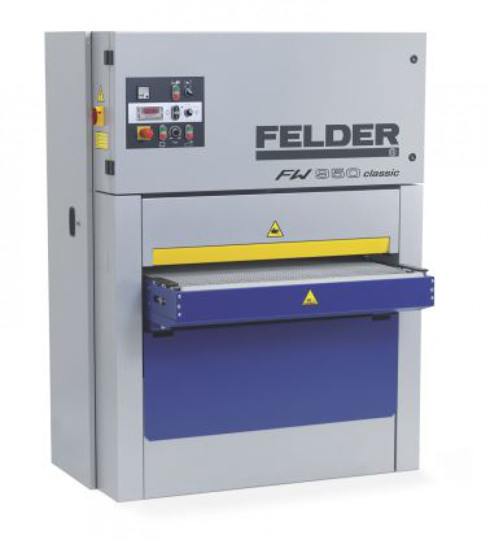 Szlifierka szerokotaśmowa FW950 classic marki Felder. Fot. Felder