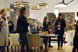 Spotkanie projektantów w showroomie Mesmetric