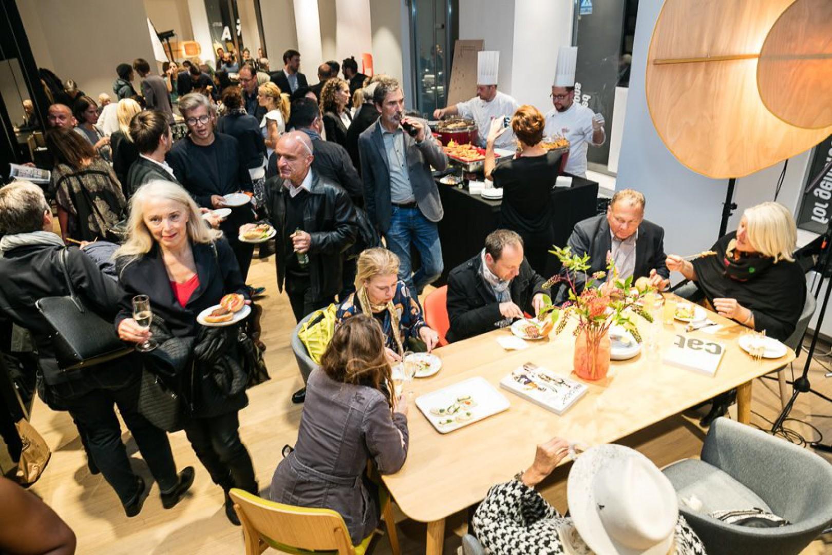 Otwarcie nowego salonu firmy Ton w Wiedniu. Fot. Ton
