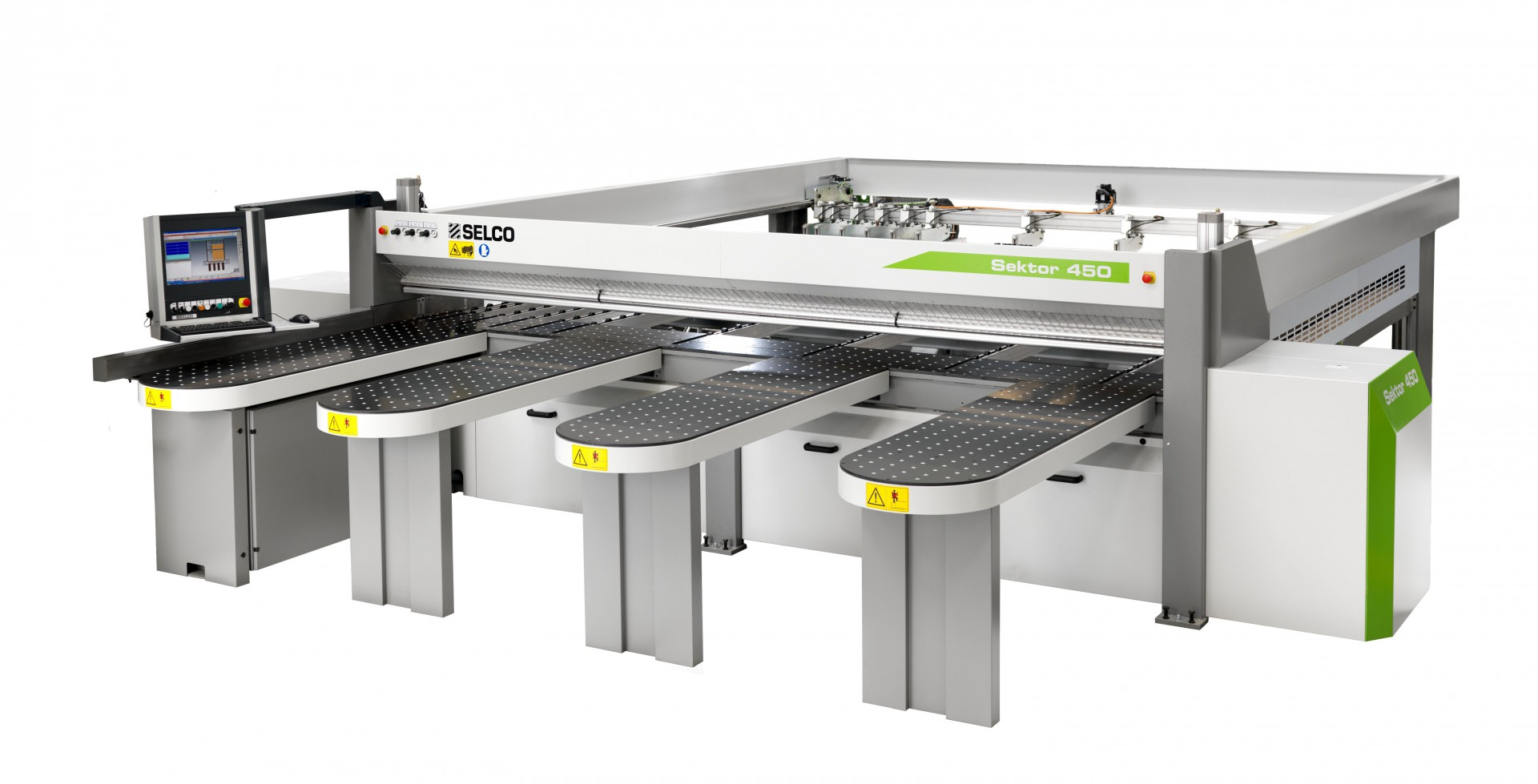 Sektor 450 - pilarka formatowa. Producent: Biesse. Dystrybutor: Teknika. Fot. Teknika