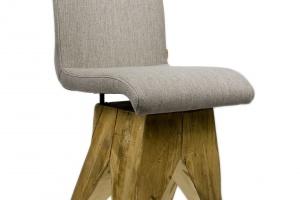"""""""Na bazie"""" - industiralne krzesło"""