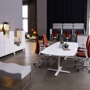 """Fotele biurowe z kolekcji """"Capella"""". Fot. Kinnarps"""