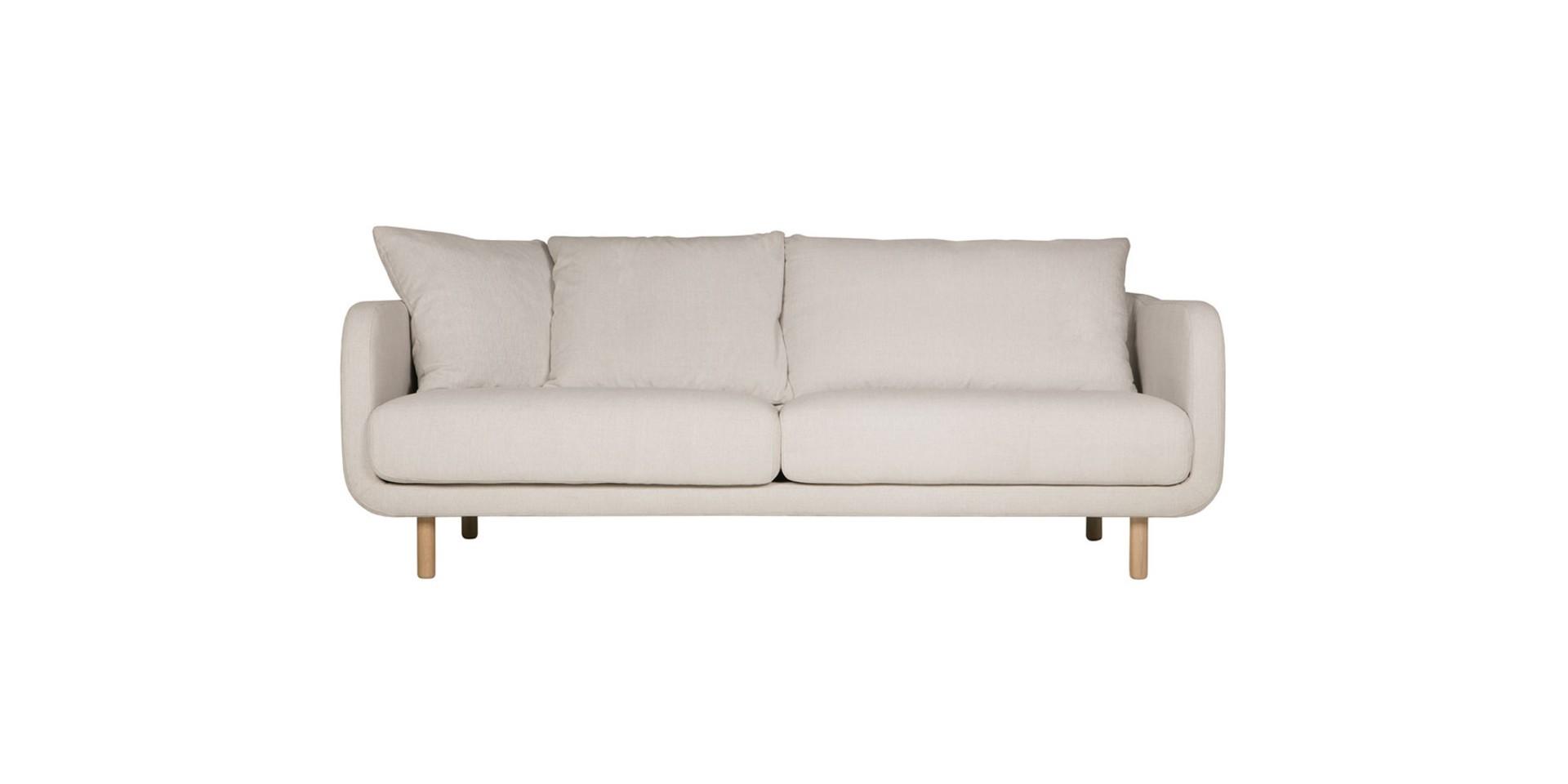 Trzyosobowa wersja sofy Jenny firmy Sits. Fot. Sits