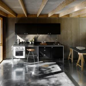 Aranżacja kuchenna, w której wykorzystano dekor