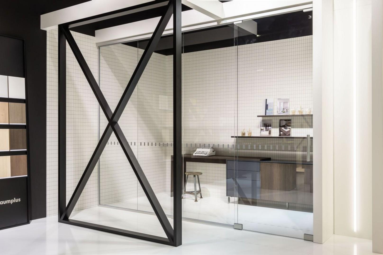 System All Glass Door firmy Raumplus. Fot. Raumplus