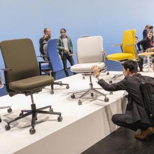 Stoisko firmy Pacific Chair. Fot. Koelnmesse