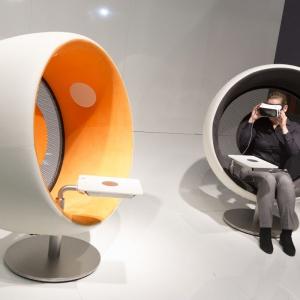 Stoisko firmy Sonic Chair. Fot. Koelnmesse