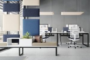 Panele akustyczne do biur