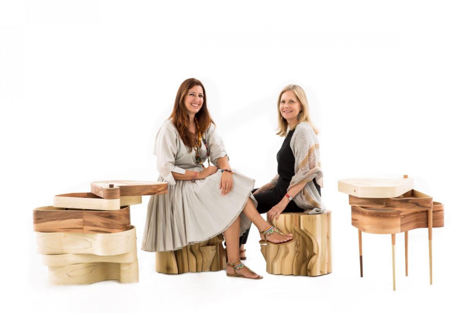 Family of tables. Projekt: Benedetta Tagliabue (Miralles Tagliabue EMBT). Zamawiająca: Martha Thorne. Fot. Uxío Da Vila