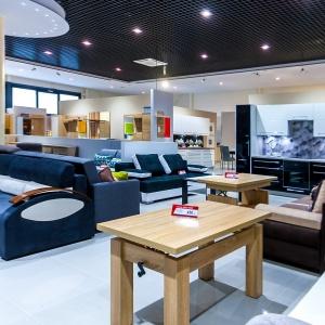 W październiku 2016 roku w Elblągu oficjalnie zostało otwarte nowe Centrum Logistyczne Extom Meble oraz Galeria Mebli Extom. Fot. Extom