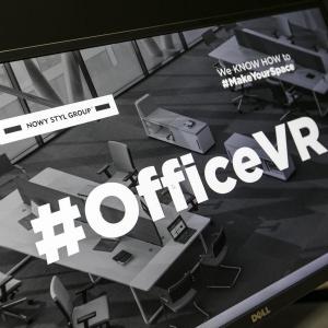 Aplikacja #OfficeVR. Fot. Grupa Nowy Styl