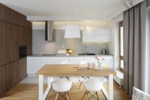 Kuchnia w bloku. 20 pięknych zdjęć