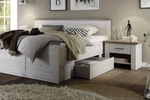 Łóżko z pojemnikiem na pościel - rynkowy hit