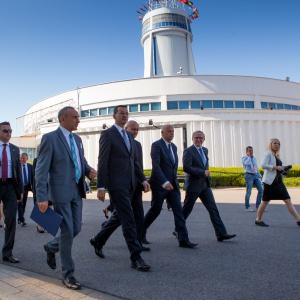 Jesienią tego roku minister Morawiecki odwiedził targi Drema w Poznaniu.