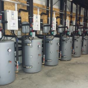 Kotłownia w fabryce Klose. Fot. Eco-Synergia/Danfoss