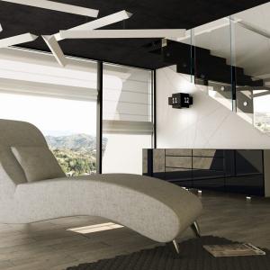 Szezlong Talis to prawdziwa ozdoba nowoczesnego wnętrza. Fot. Adriana Furniture