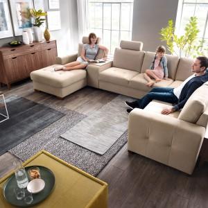 Modułowe zestawy wypoczynkowe. Modułowa sofa Taboo. Fot. Wajnert Meble
