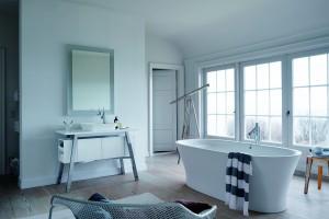 """""""Cape Cod"""" - design w łazience"""