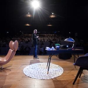 Gość specjalny Forum Dobrego Designu 2016 - Henrik Pedersen, jeden z uznanych duńskich projektantów. Fot. Paweł Pawłowski