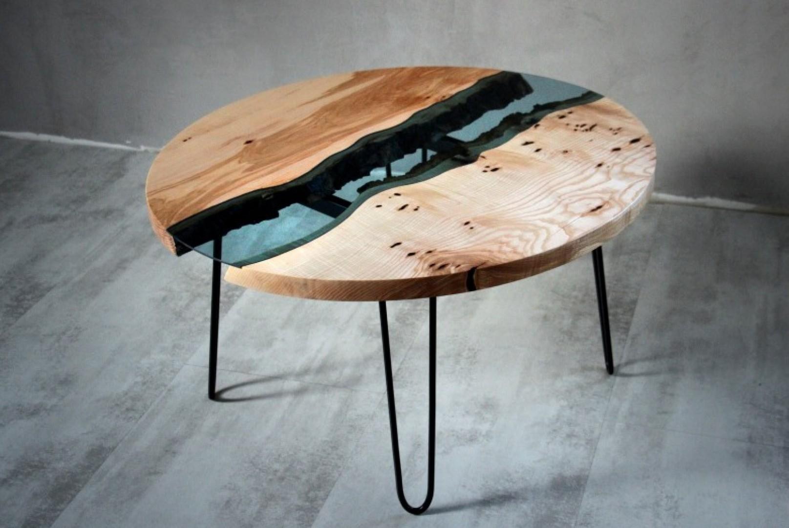 Stolik z oferty marki Malita Just Wood. Fot. Malita Just Wood