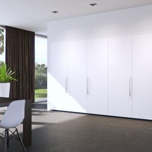 Dzięki możliwości schowania kuchni możemy mieć dwa w jednym i cieszyć się zarówno funkcjonalnością, jak i estetyką wnętrza. Fot. Peka