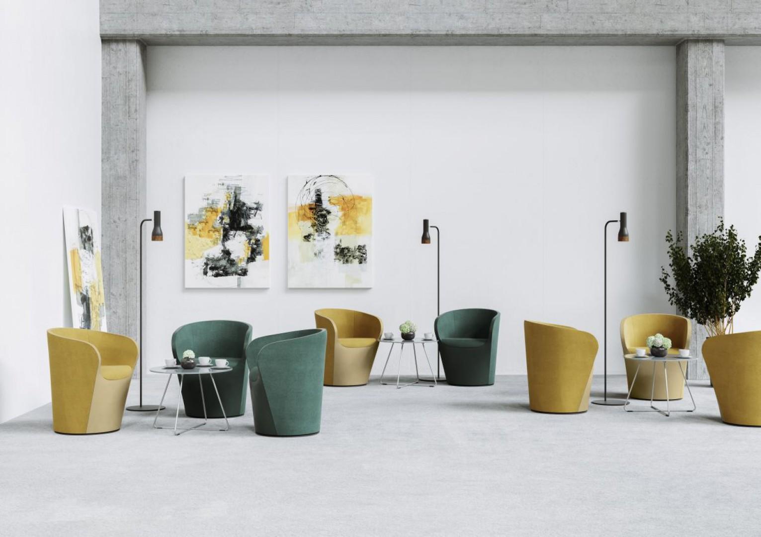 Kolekcja foteli Nu Spin firmy Profim. Fot. Profim