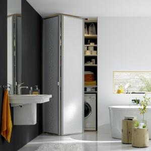 System przechowywania w łazience. Fot. Raumplus