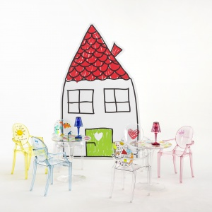 Krzesełka Lou Lou. Fot. Kartell