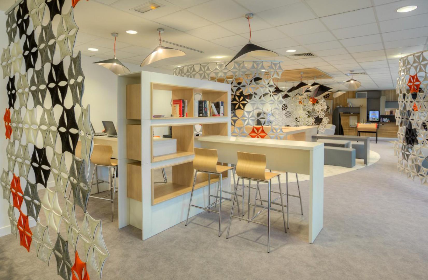 Lounge Plazza w siedzibie firmy Gemalto. Fot. Sébastien Duijndam