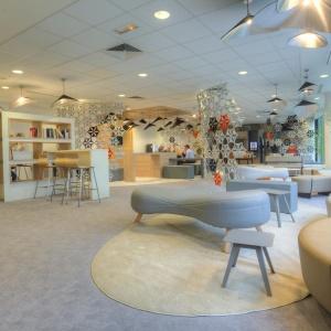 Lounge Plazza znajduje się w głównej siedzibie firmy Gemalto w Paryżu. Fot. Sébastien Duijndam