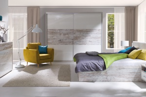 Kompaktowe meble do sypialni