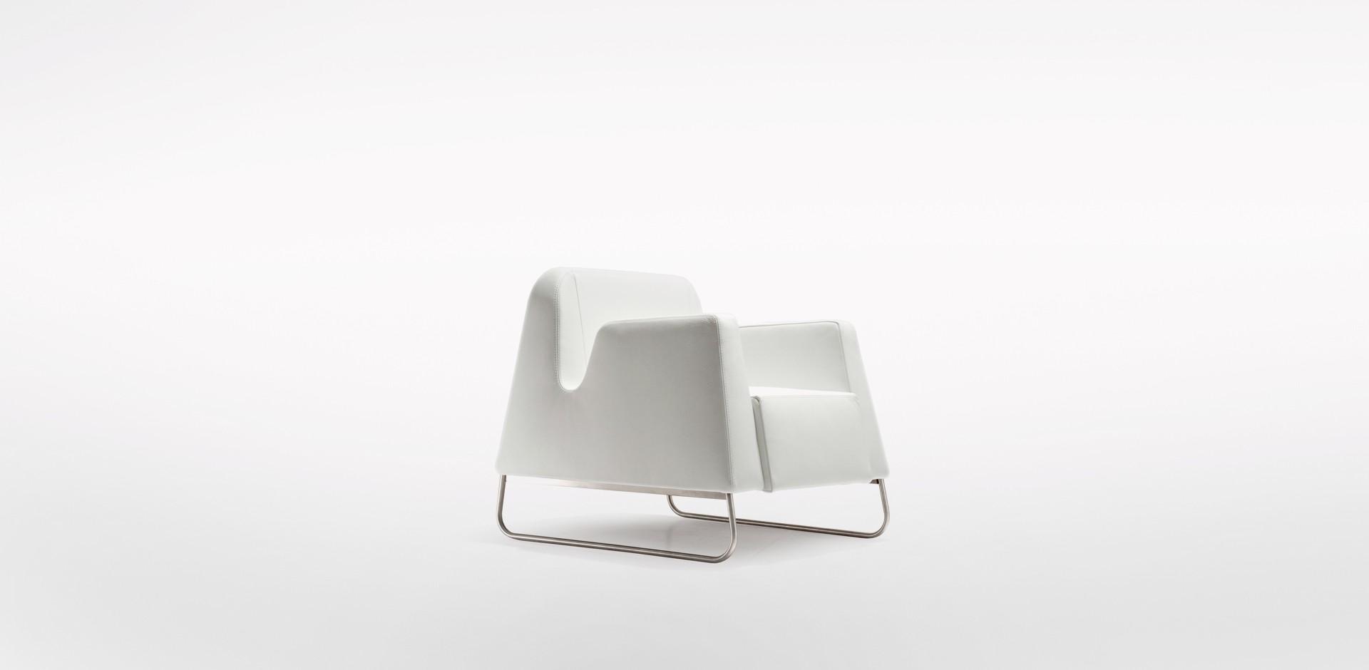 """Fotel """"Lemming"""" zaprojektowany dla firmy Iker (2007). Fot. Iker"""
