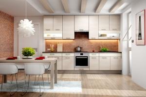Kuchnia w dekorach sosnowych - komentarz eksperta