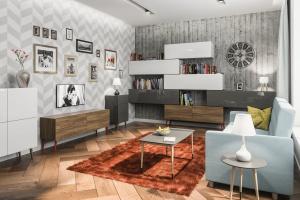 Meble modułowe do salonu - dobry pomysł na wnętrze