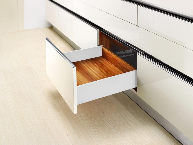 System do zabudowy szuflad SB10 Slim Box. Fot. Amix