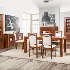 Castilla to kolekcja kierowana do ludzi ceniących meble zbudowane w całości z naturalnych surowców. Fot. Salony Agata