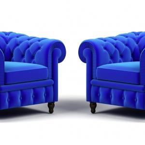 A na drugim miejscu są meble tapicerowane. Fot. Shutterstock