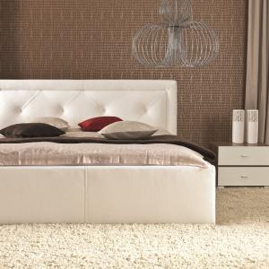 Łóżko tapicerowane Karo. Fot. Wajnert