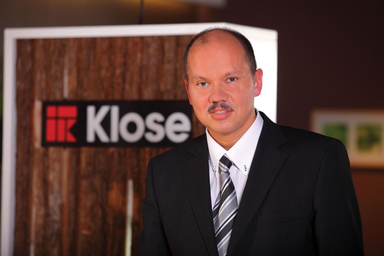 Wiesław Kalinowski, dyrektor zarządzający w firmie Klose