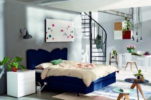 Nowoczesna sypialnia. Świetne pomysły na zagłówek łóżka