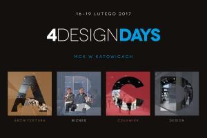 Zobacz, kto potwierdził swój udział w 4 DESIGN DAYS 2017!