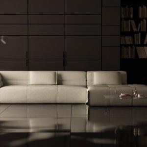 Narożnik Piero to doskonałe modułowe rozwiązanie, które idealnie wpasowuje się w minimalistyczne wnętrza. Fot. Adriana Furniture